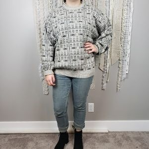 Unisex Oversized Chunky Knit Grandpa Sweater